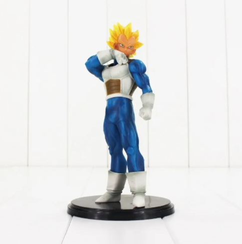 Action Figure Dragon Ball Z Vegeta Resolution Of Soldiers