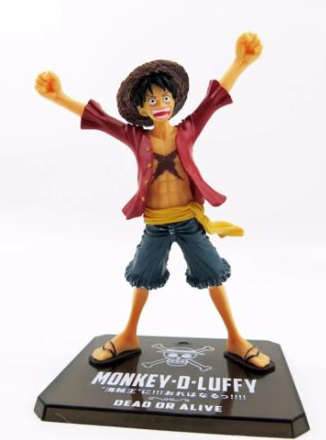 Action Figure One Piece Luffy Palha New World Figuarts