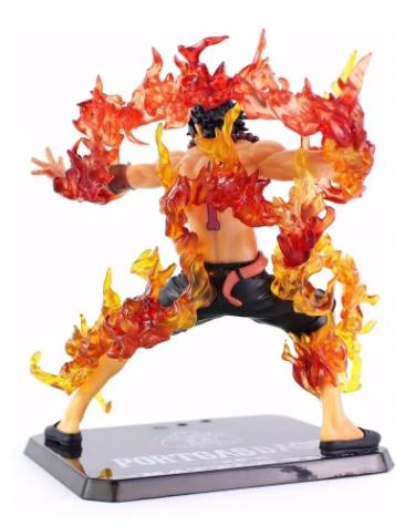 Action Figure One Piece Portgas D. Ace Figuarts Battle Vers.