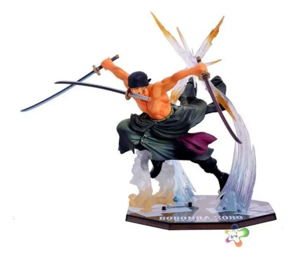 Action Figure One Piece Roronoa Zoro Battle Version Figuarts