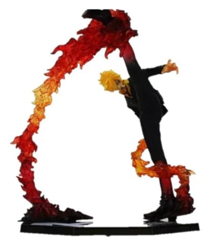 Action Figure One Piece Sanji Battle Version Figuarts