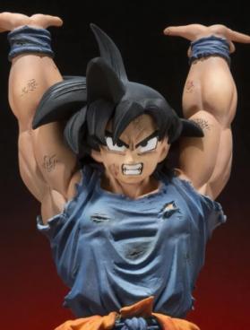 Action Figure Son Goku Genki Dama Dragon Ball Z Figuarts