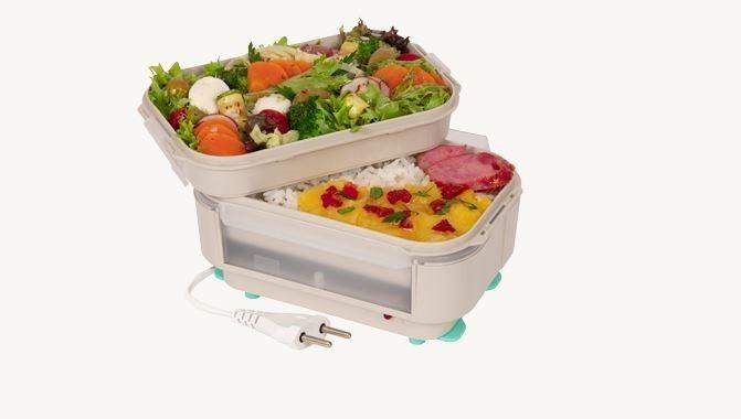 Aquecedor de Alimentos a Vapor Marmita Elétrica Light com Saladeira Marmi Quent - Bivolt