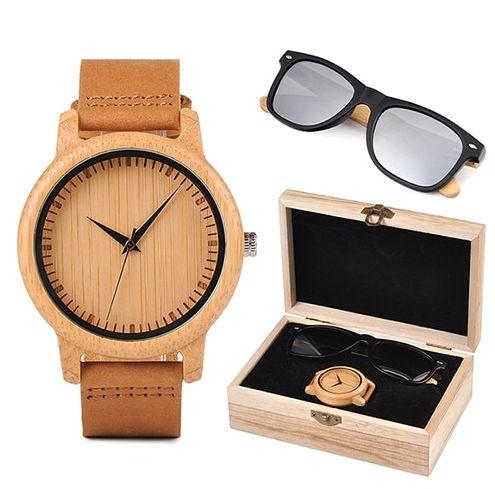 Box de Relógio e Óculos Double Chandelier -  Bobo Bird