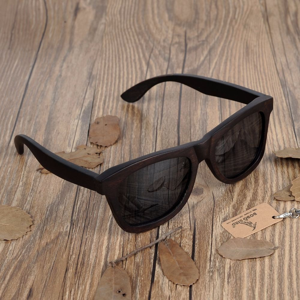 Box de Relógio e Óculos Madeira Black Pure - Bobo Bird