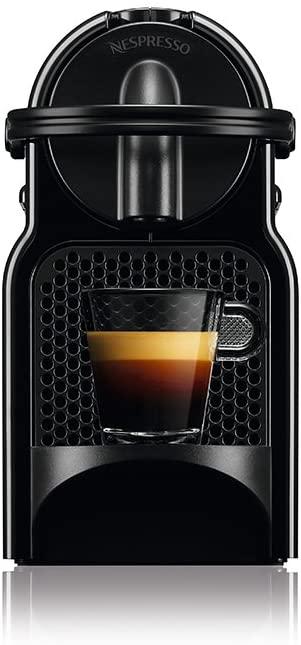Cafeteira Nespresso Inissia D40 BR 110V Preto + 14 Cápsulas