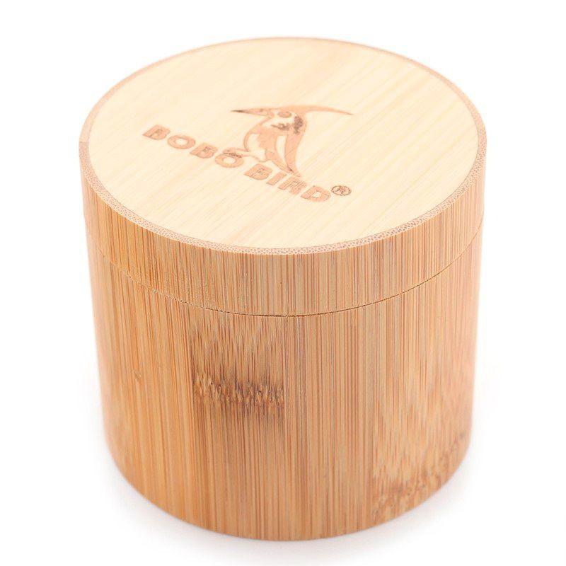 Caixa de Madeira para Relógio Redonda - Bobo Bird