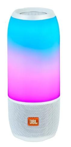Caixa De Som Portátil Jbl Pulse 3 Waterproof Bluetooth Prata