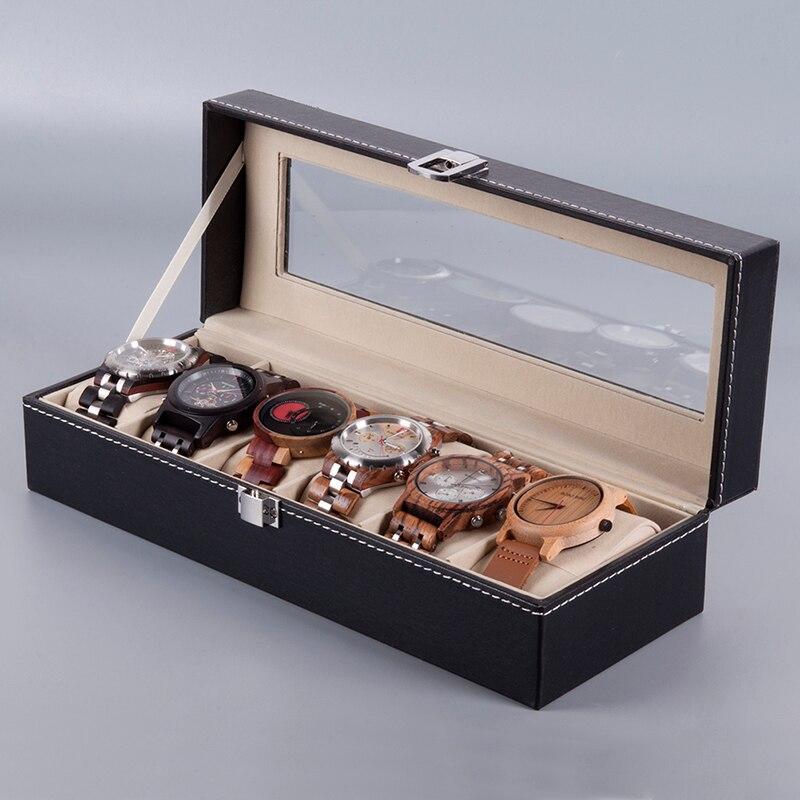 Caixa Expositora para 6 Relógios - Bobo Bird