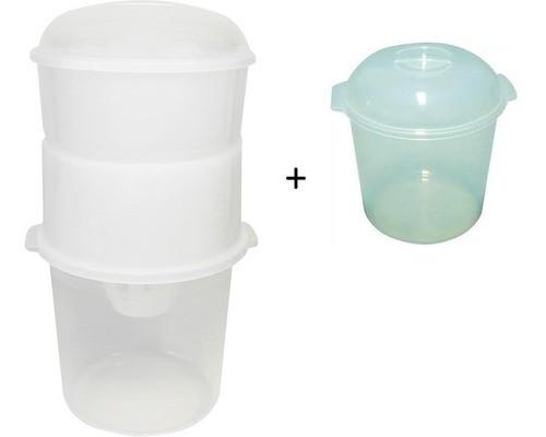 Dessorador + Pote Refil Para Iogurteira Elétrica Izumi 1l