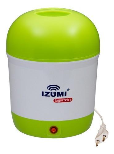 Iogurteira Elétrica Verde Izumi Bivolt 1 Litro Modelo Novo!