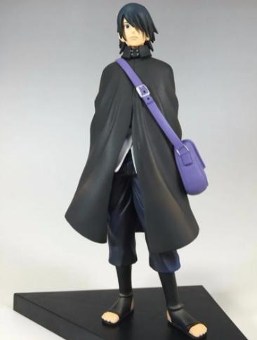 Kit 2 Action Figure Naruto Hokage + Sasuke Dxf Boruto Movie