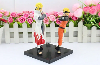 Kit 2 Action Figure Naruto + Minato Dxf Shinobi Relations