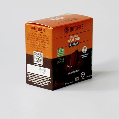 Kit Café de Comer - Confeito de Café Sabor Espresso e Café com Leite Zero