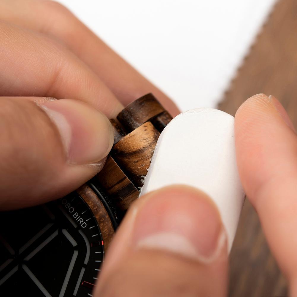 Kit Reparo e Conservação para Relógio de Madeira - Bobo Bird