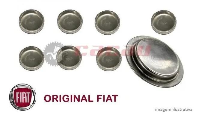 Kit Selos Do Bloco Do Motor Fiat Fire Todos Original 9 pçs