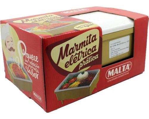 Marmita Elétrica Retangular Pratica Malta - Bivolt