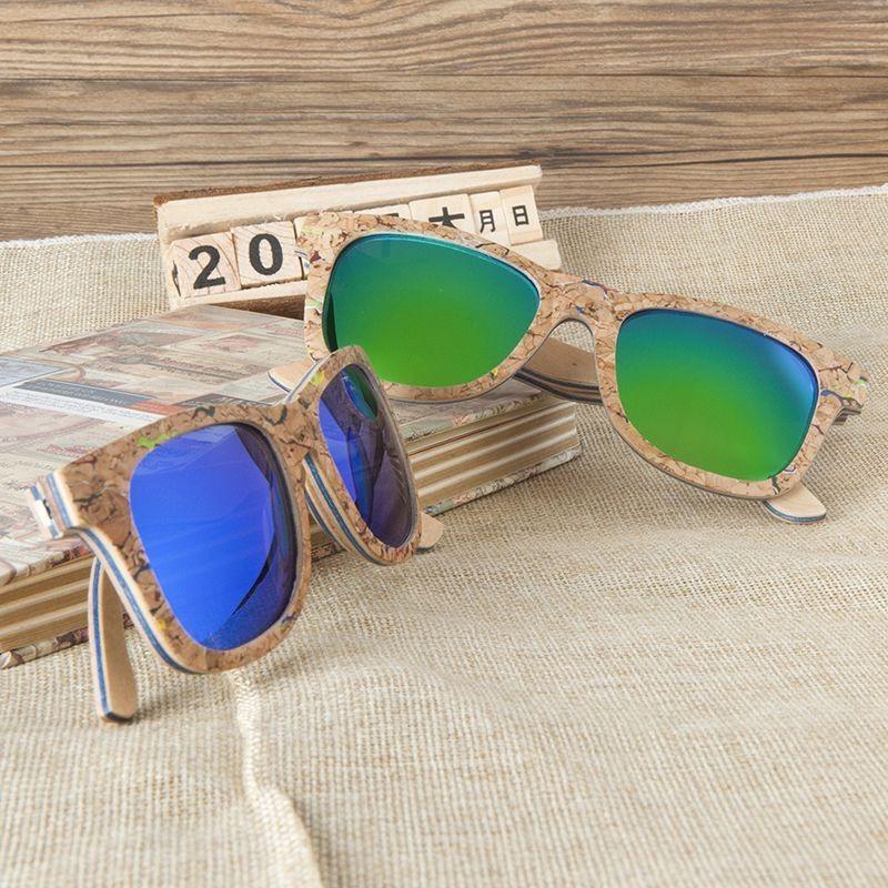 Óculos de  Madeira e Cortiça Kauna - Bobo Bird
