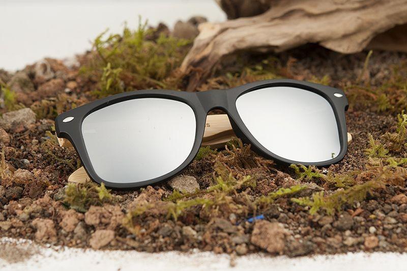 Óculos de Madeira e Resina Double - Bobo Bird