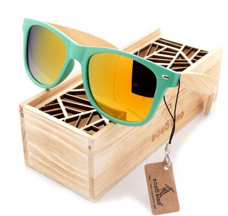Óculos de Madeira e Resina Lanta - Bobo Bird