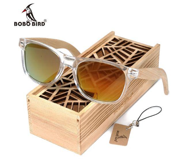 Óculos de Madeira e Resina Malta - Bobo Bird