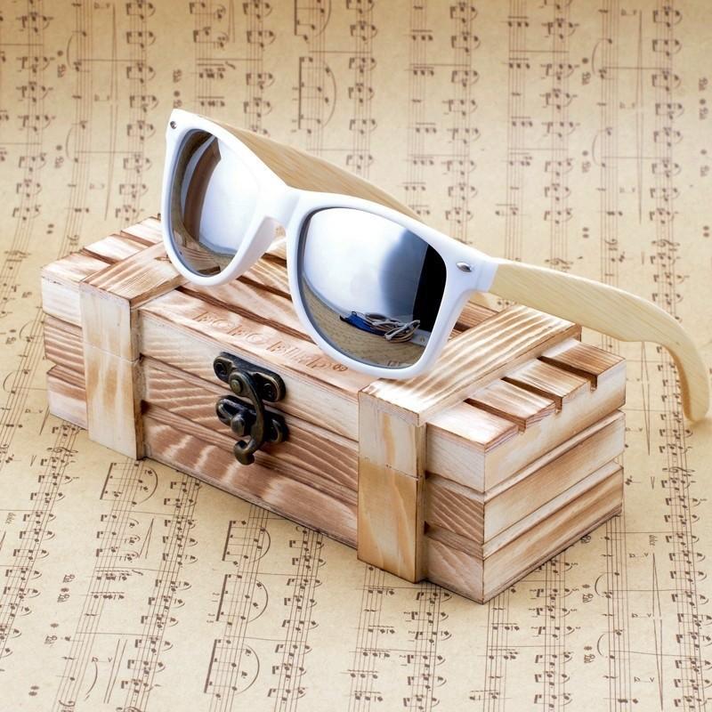 Óculos de Madeira e Resina Patmos  - Bobo Bird