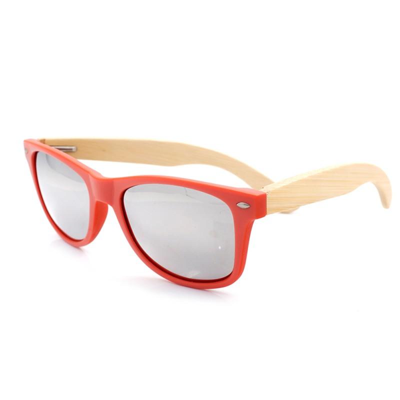 Óculos de Madeira e Resina Red - Bobo Bird