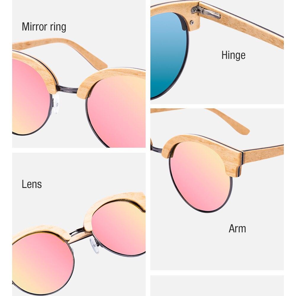 Óculos de Madeira Juglans - Bobo Bird