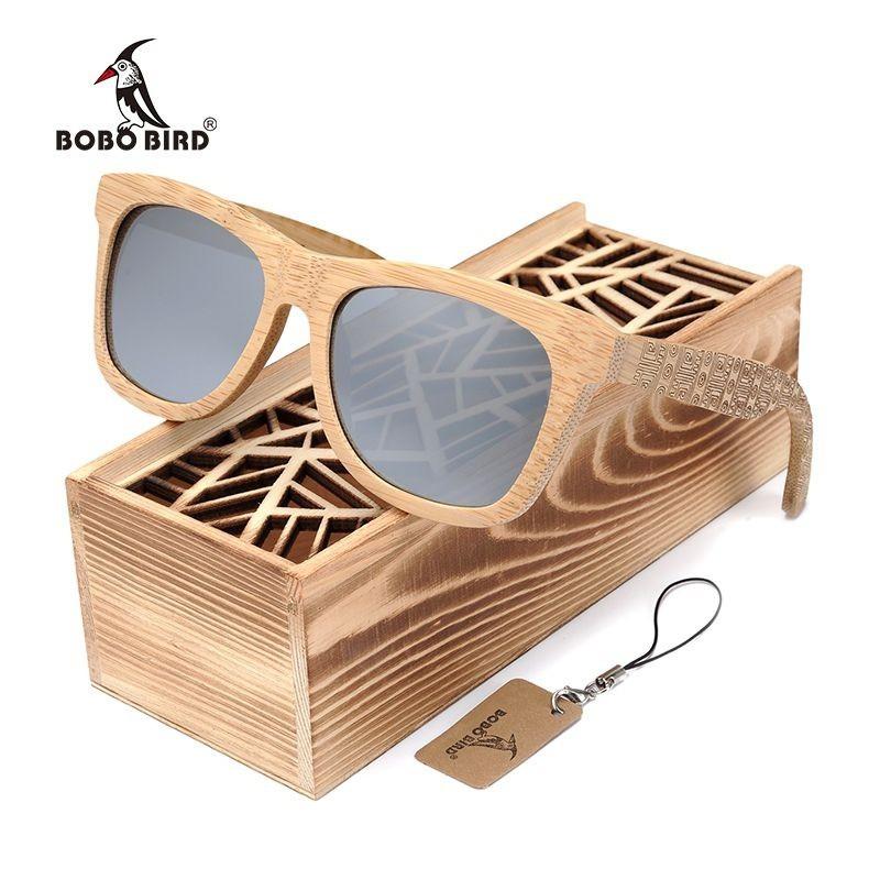 Óculos de Madeira Maori - Bobo Bird