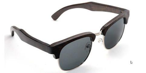 Óculos de Madeira Maui Preto - Bobo Bird