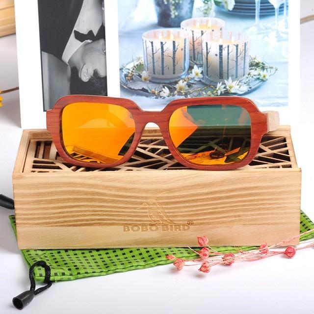 Óculos de Madeira Sicília - Bobo Bird