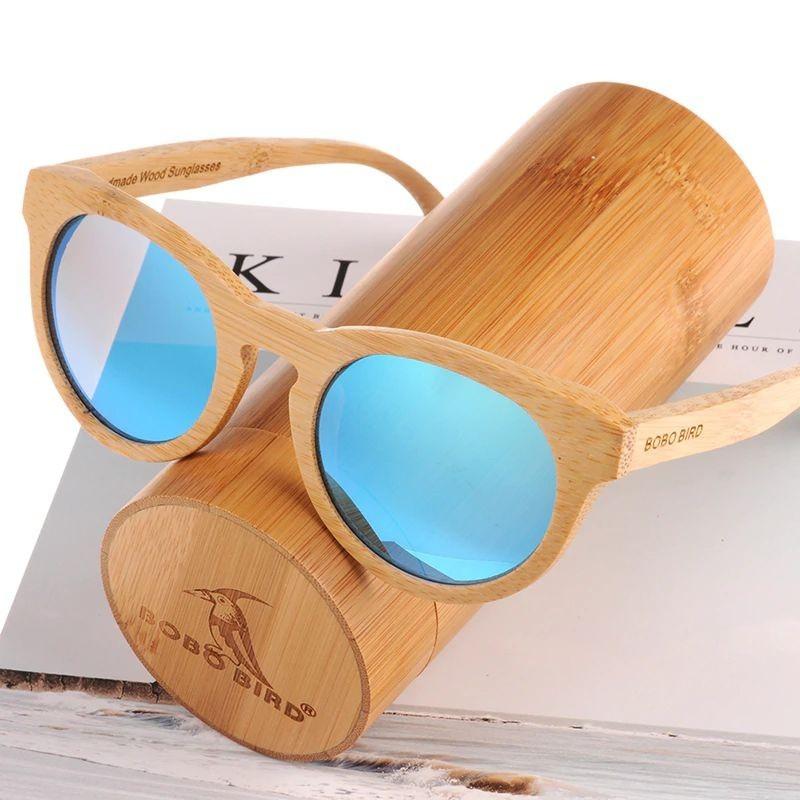Óculos de Madeira Tortola - Bobo Bird