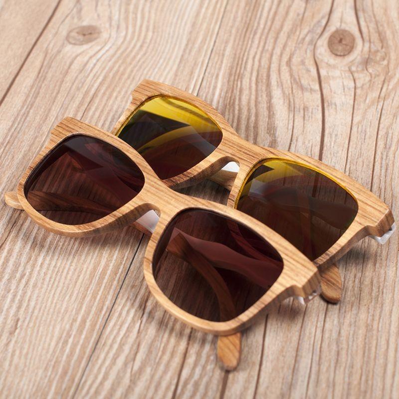 Óculos de  Madeira Wavewood - Bobo Bird