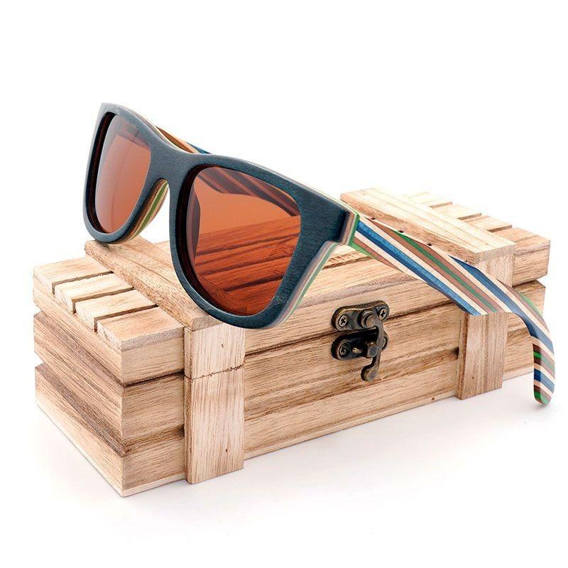 Óculos de Madeira Whitehaven - Bobo Bird