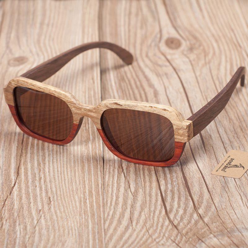 Óculos de Madeira Yemen  - Bobo Bird