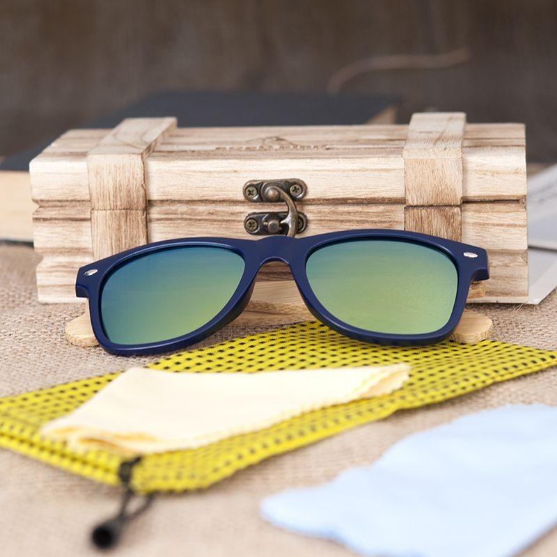 Óculos de Resina e Madeira Marajó
