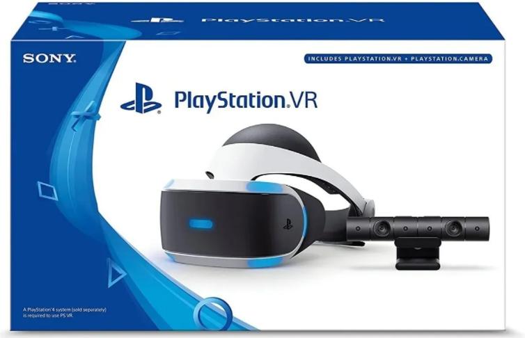 Playstation Vr Kit - Óculos Zvr2 + Ps Camera Mostruário
