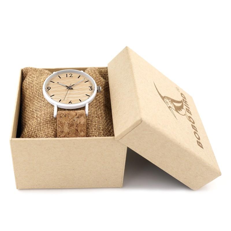 Relógio de Aço Inox Cherry - Bobo Bird