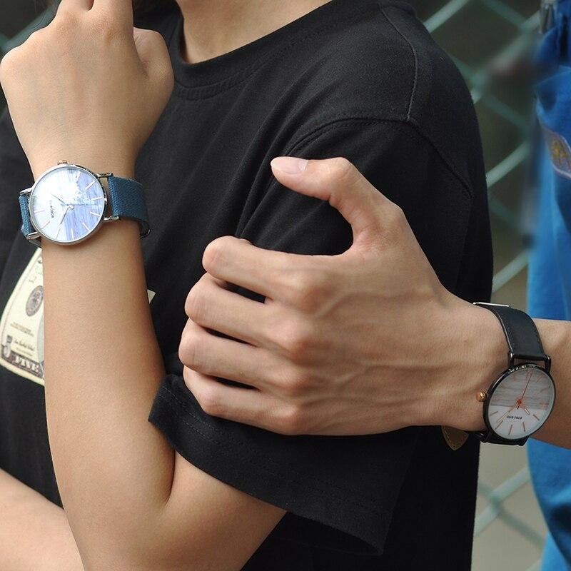 Relógio de Aço Inox Dalbergia - Bobo Bird