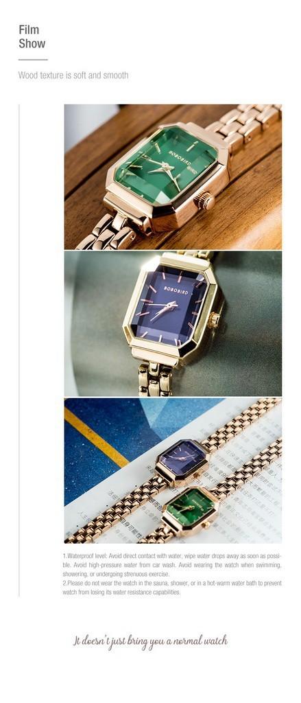 Relógio de Aço Inox Garnet - Edição Limitada - Bobo Bird