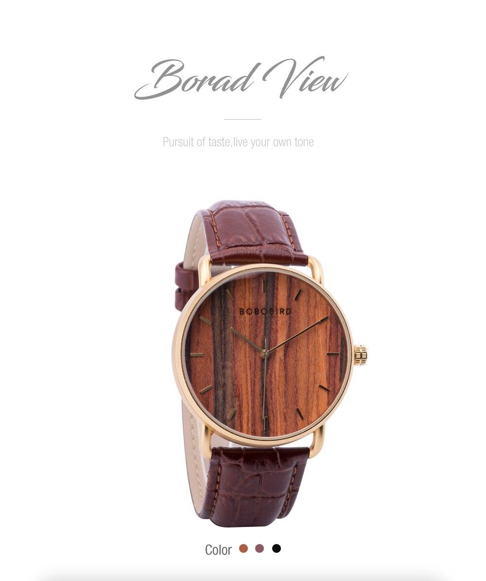 Relógio de Aço Inox Guapira - Bobo Bird