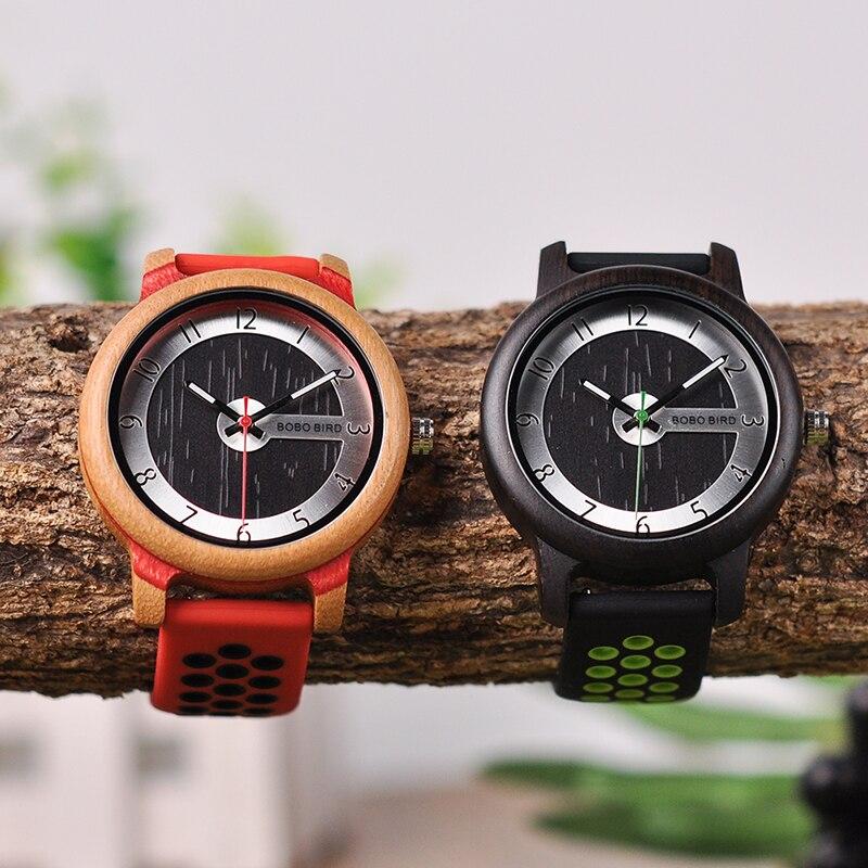 Relógio de Madeira Agáti - Bobo Bird