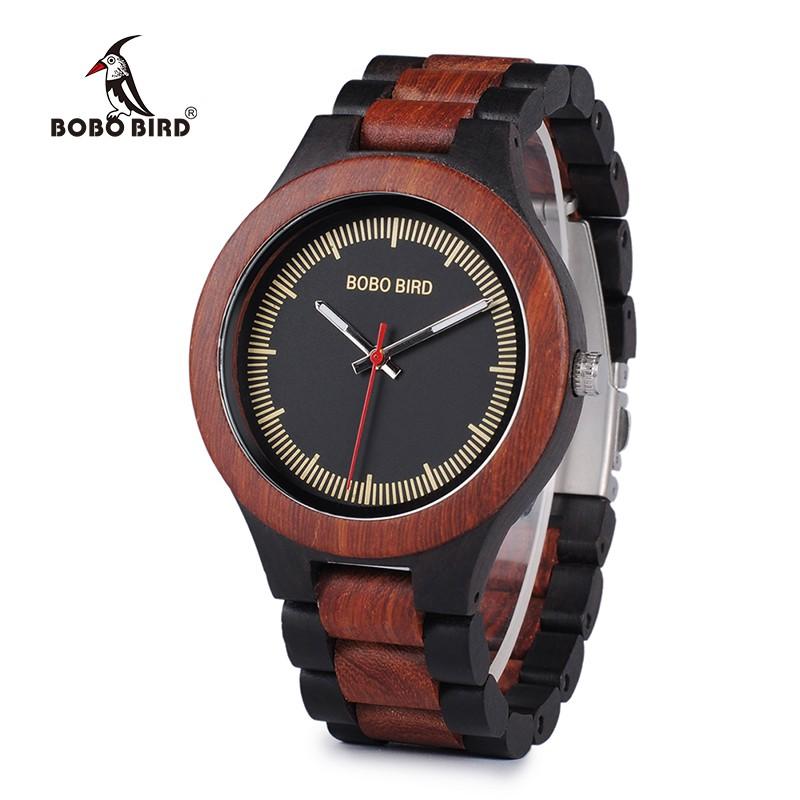 Relógio de Madeira Aglaia - Bobo Bird
