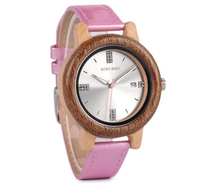 Relógio de Madeira Alectryon  - Bobo Bird
