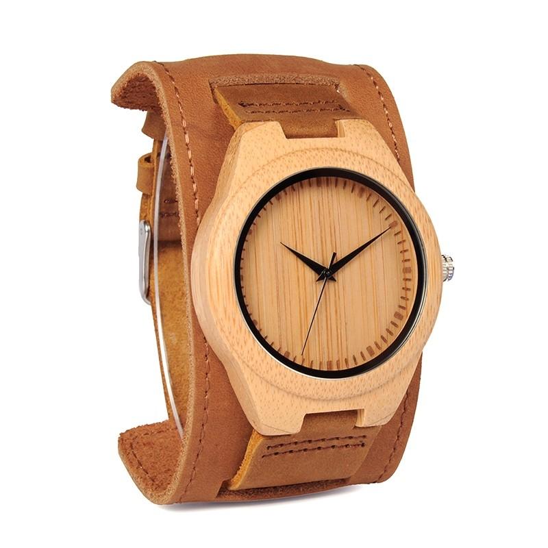 Relógio de Madeira Andira - Bobo Bird