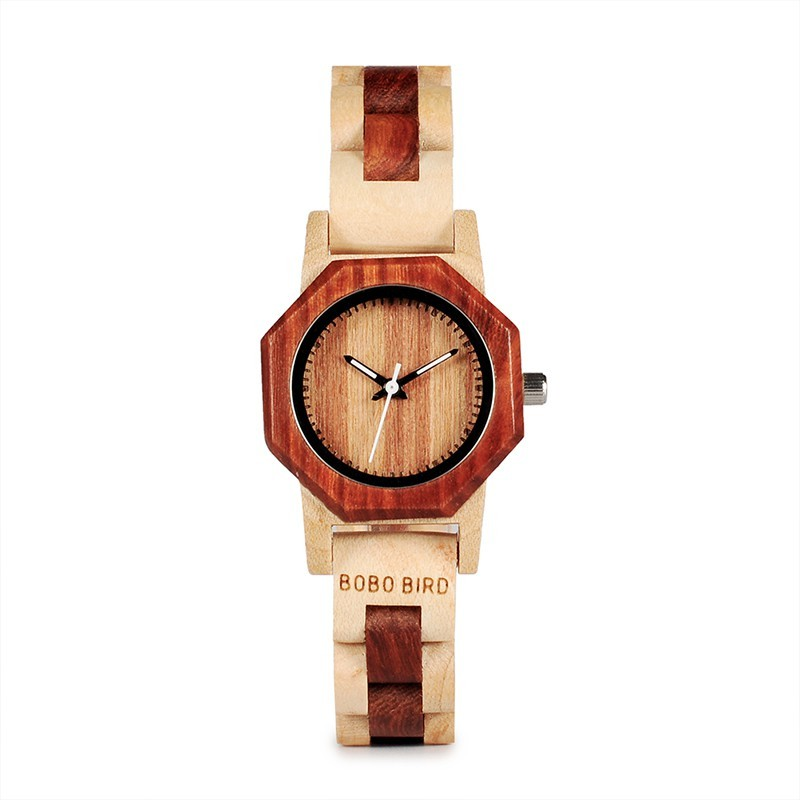 Relógio de Madeira Annona - Bobo Bird
