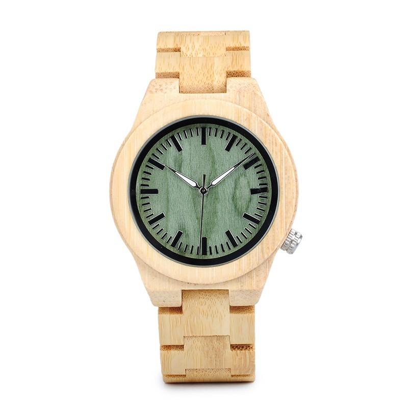 Relógio de Madeira Araucaria - Bobo Bird