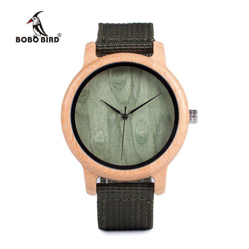 Relógio de Madeira Arbutus - Bobo Bird