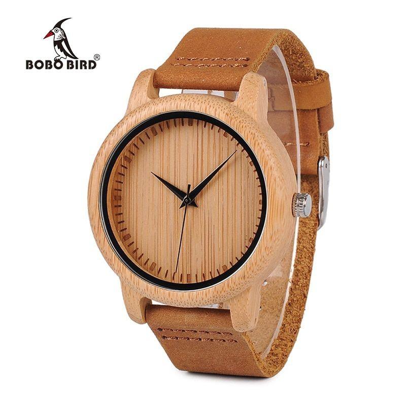Relógio de Madeira Aspilia - Bobo Bird