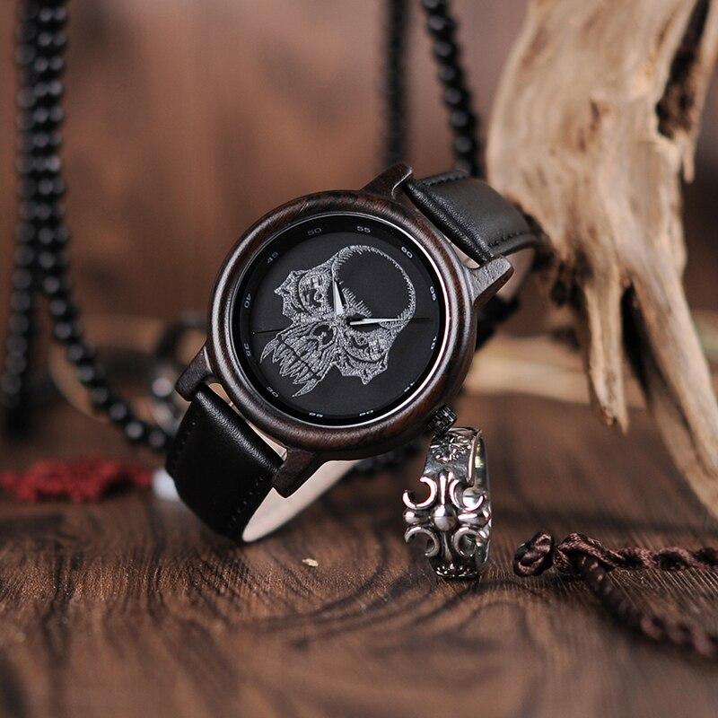 Relógio de Madeira Baccharis - Bobo Bird